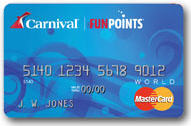 "Carnival ""FunPoints"" MasterCard"
