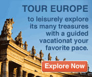 Travel Europe - the charming, beautiful, and historic!